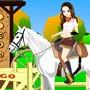 Vanessa à cheval !