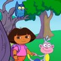 Retrouve le hibou caché avec Dora !