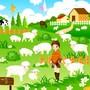 Les animaux de la ferme en déco