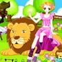Habille la fille au lion